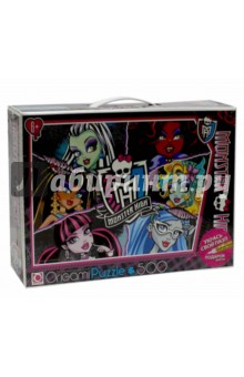 "Пазл-500 ""Monster High"" + маркер (05354)"