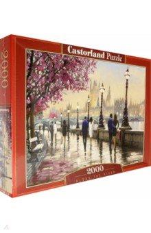 Puzzle-2000 Набережная (C-200566)Пазлы (2000 элементов и более)<br>Пазл-мозаика.<br>2000 элементов.<br>Размер картинки: 92 х 68 см.<br>Материал: картон.<br>Упаковка: картонная коробка.<br>Сделано в Польше.<br>