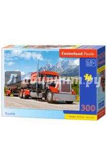 Puzzle-300 Грузовик (В-030033)Пазлы (200-360 элементов)<br>Пазл-мозаика.<br>300 элементов.<br>Размер картинки: 40 х 29 см.<br>Материал: картон.<br>Упаковка: картонная коробка.<br>Для детей от 8 лет.<br>Сделано в Польше.<br>