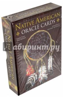 Сакральный оракул американских индейцевГадания. Карты Таро<br>Сакральный Оракул Американских индейцев.<br>Традиции и символика древней мудрости помогут нам найти ясность и понимание.<br>Комплектация: 33 карты + инструкция.<br>