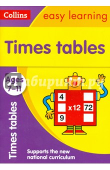 Times Tables. Ages 7-11