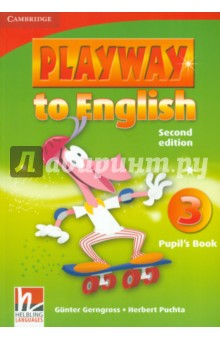 Playway to English 3. Pupils BookИзучение иностранного языка<br>Playway to English Second edition is a new version of the popular four-level course for teaching English to young children. Pupils acquire English through play, music and Total Physical Response, providing them with a fun and dynamic language learning experience.<br>Fantastic varied tasks keep children s motivated.<br>Cross-curricular activities take children s learning beyond the English language classroom.<br>Self evaluation sections help children retain and recycle new language.<br>Regular Word play sections encourage pupils to use the target language creatively.<br>Second Edition.<br>