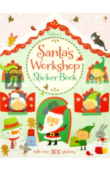 Watt Fiona Santa's Workshop Sticker Book