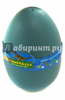Конструктор Динопазл (62030)Конструкторы из пластмассы и мягкого пластика<br>Конструктор Динопазл в яйце.<br>Материал: пластик.<br>Для детей старше 5-ти лет. Содержит мелкие детали. <br>Сделано в Китае.<br>