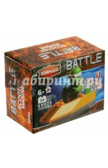 Конструктор Zormaer Battle Морпех - скутер!, 24 элемента (58035)Конструкторы из пластмассы и мягкого пластика<br>Конструкторский набор Zormaer.<br>24 элемента.<br>Материал: пластмасса.<br>Упаковка: картонная коробка.<br>Для детей 6-12 лет.<br>Сделано в Китае.<br>