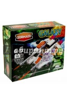 Конструктор Zormaer Galaxy Планетный конвой, 72 элемента (58836)Конструкторы из пластмассы и мягкого пластика<br>Конструкторский набор Zormaer.<br>72 элемента.<br>Материал: пластмасса.<br>Упаковка: картонная коробка.<br>Для детей 6-12 лет.<br>Сделано в Китае.<br>