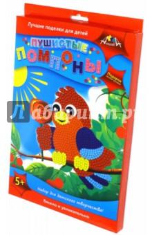 Пушистые помпоны Птичка (С2430-06)Сопутствующие товары для детского творчества<br>У вас в руках набор для детского творчества Пушистые помпоны.<br>Чтобы сделать пушистую картинку, приклейте на цветную картонную основу помпоны соответствующего цвета.<br>Используйте глазки для декорирования. По контуру рисунка приклейте рамку.<br>Забавные плюшевые картинки - отличный подарок, сделанный своими руками.<br>Состав набора: Цветная картонная основа, помпоны из искусственного меха<br>глазки, стразы, декоративная рамка, клей ПВА.<br>Для детей от 5-ти лет.<br>Сделано в Китае.<br>