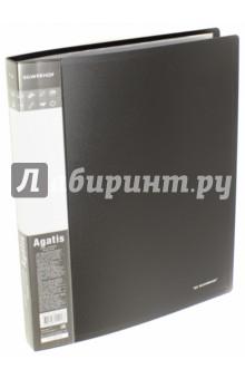 Папка с файлами AGATIS. 30 файлов, А4. Черная (292730-01)Папки с прозрачными файлами<br>Папка с файлами AGATIS. <br>Количество файлов: 30 штук. <br>Формат: А4. <br>Цвет: черный.<br>Сделано в России.<br>