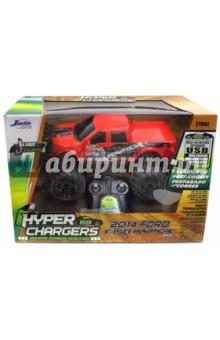 2014 Ford - 150 Raptor, 1/16 (84213-0)Машины коллекционные. Масштаб 1:12 - 1:18<br>Модель автомобиля 2014 Ford -150 Raptor. <br>Радио управляемая модель автомобиля. Независимая передняя подвеска, задний привод. <br>Масштаб модели 1:16. <br>HYPER CHARGERS (Гипер Чарджерс) - новое поколение Р/У моделей машин! Запатентованная технология - машинка со встроенным аккумулятором, заряжается через USB-провод. Система эко зарядки с USB-портом позволяет зарядить машинку от различных устройств и приборов: настольный компьютер, ноутбук, игровая консоль, автомобильная зарядка, адаптер для зарядки смартфона, розетки с USB. Радио управление с пульта.<br>В наборе: модель машинки, встроенный аккумулятор с USB проводом, пульт Р/У.<br>Материал: металл, пластик.<br>Батарейки: 2 батарейки типа АА для пульта Р/У (входят в комплект). <br>Игрушка для детей от 8 лет.<br>Сделано в Китае.<br>