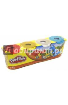 Набор пластилина из 4 штук, неоновые цвета (22114/А9213)
