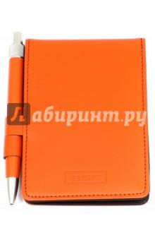 Блокнот для записей красный с ручкой (350721) (PCM02)Блокноты средние нелинованные<br>Блокнот для записей.<br>С ручкой.<br>Закрывается на кнопку. <br>Количество страниц: 200. <br>Цвет: красный.<br>Материал: натуральная кожа.<br>Сделано в Китае.<br>