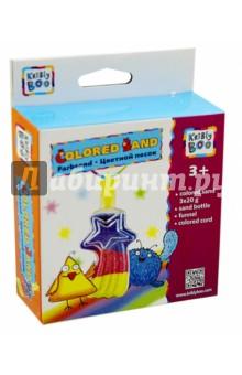 Набор для творчества с цветным песком Комета (60787)Другие виды творчества<br>Набор для детского творчества с цветным песком Комета.<br>В наборе:<br>- песок 3-х цветов, <br>- флакон с крышкой, <br>- воронка, <br>- шнурок.<br>Не предназначен для детей до трех лет - содержит мелкие детали.<br>Произведено в Китае.<br>
