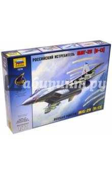 Самолет МиГ-29 (9-13) (7278)Пластиковые модели: Авиатехника (1:72)<br>МиГ-29С, или 9-13С по фирменному обозначению КБ им. Микояна, был принят на вооружение ВВС России в 1994 году. Эта модернизированная версия истребителя МиГ-29 оснащена новой системой управления стрельбой СОУ-29М4, сопряжённой с бортовым компьютером Ц-101М, что позволило более эффективно вести огонь по воздушным и наземным целям. Радиолокационный прицел Н-019М Топаз способен наводить ракеты с полуактивной ГСН одновременно по двум целям. Истребитель оснащён встроенной аппаратурой радиоэлектронного противодействия. Основной задачей МиГ-29C является защита от воздушного противника небольших территорий, важных объектов и войсковых групп.<br>Количество деталей: 190<br>Размер: 24 см.<br>Масштаб: 1/72<br>Моделистам до 10-ти лет рекомендуется помощь взрослых.<br>Запрещено детям до 3-х лет из-за наличия мелких деталей.<br>Сделано в России.<br>