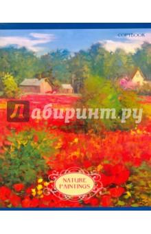 """Тетрадь общая, 48 листов """"Красочная природа"""", 5 видов (ТК2Л484903) Эксмо-Канц"""