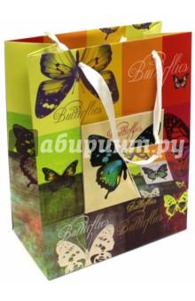 "Пакет бумажный ""Бабочки"" (17,8х22,9х9,8 см) (40876) Феникс-Презент"