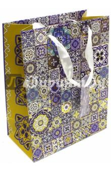 """Пакет бумажный """"Узор"""" (17,8х22,9х9,8 см) (40869) Феникс-Презент"""
