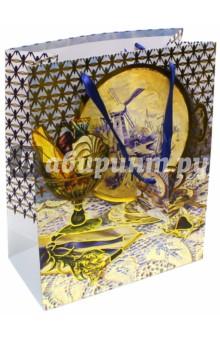 """Пакет бумажный """"Натюрморт"""" (26х32,4х12,7 см) (40880) Феникс-Презент"""