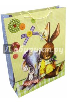 """Пакет бумажный """"Любимые игрушки"""" (48,3х17,8х63 см) (40900) Феникс-Презент"""