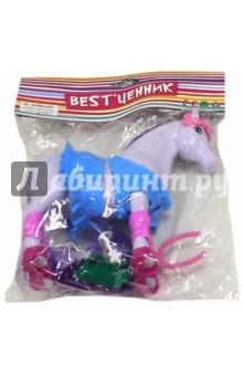 Лошадь с аксессуарами (00742714) S+S TOYS