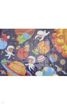 Пазл В космосе (24 детали)Пазлы (15-50 элементов)<br>Пазл на подложке В космосе.<br>Количество деталей: 24<br>Материал: картон.<br>Для детей старше 3-х лет.<br>Сделано в  России.<br>