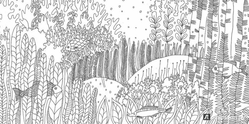 Раскраски подводное мир