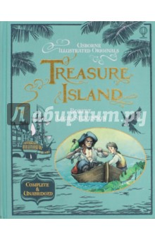 Treasure IslandЛитература на иностранном языке для детей<br>A beautiful gift edition of Robert Louis Stevenson s classic tale of piracy and adventure - complete and unabridged.<br>Follow young Jim Hawkins as he sets sail across the high seas in search of buried treasure. Danger lies ahead as he encounters mutiny, murder, shipwreck and the mysterious Long John Silver.<br>Sumptuous illustrations and traditional binding make this a wonderful gift and the perfect addition to any collection.<br>