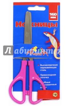 Ножницы. 16 см. Пластиковые ручки (С0518-01) АппликА