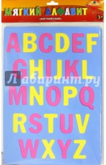 Мозаика. Мягкий алфавит. Английский (С2573-01)Мягкие пазлы<br>Мозаика. Мягкий алфавит. Английский.<br>Упаковка: пакет с подвесом. <br>Материал: ПВХ.<br>