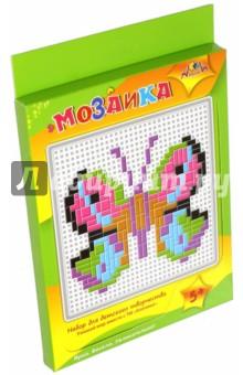 Мозаика тетрис Бабочка (С2429-04)Мозаика<br>У вас в руках набор для детского творчества Мозаика. Подложите под пластиковую сетчатую основы цветной образец. Используя цветные пластиковые элементы, выложите мозаику по рисунку. Мозаика развивает творческие способности, мелкую моторику, логическое мышление. Складывая эти простые картинки, Ваш ребенок интересно и полезно проведет время.<br>Состав набора: пластиковая сетчатая основа, цветные пластиковые элементы мозаики, пластиковый инструмент.<br>Упаковка: картонный блистер.<br>Для детей от 5-ти лет.<br>Сделано в Китае.<br>