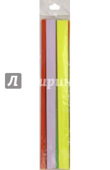Бумага цветная для квиллинга, 8 цветов. 320 полос, 9 мм. (С2330-01)Другие виды конструирования из бумаги<br>Цветная бумага для квиллинга, 8 цветов. <br>320 полос, 9 мм.<br>В блистере.<br>