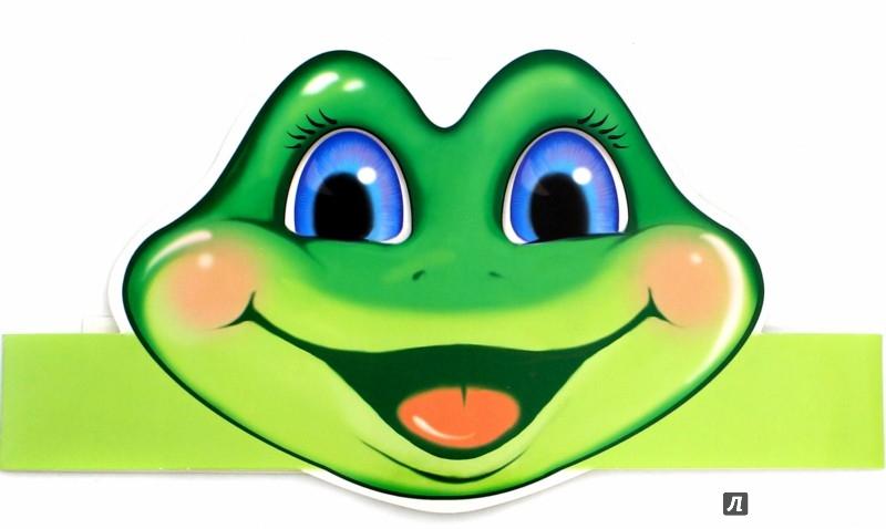 Маски лягушек для детей распечатать