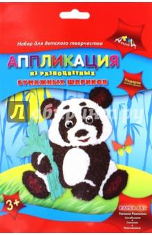 Аппликации из бумажных шариков Панда (С1843-12)