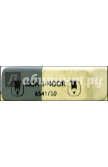 Ластик Sunpearl серо-белый 6541/80