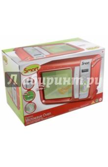 Микроволновая печь Smart (1680790.00)Бытовая техника<br>Электронная микроволновая печь с аксессуаром (кусочек пиццы).<br>С подсветкой, звуковыми эффектами и таймером.<br>Изготовлено из пластмассы с элементами из металла.<br>Для работы требуется 3 батарейки типа АА (не входят в набор).<br>Для детей от 3-х лет.<br>Не рекомендуется детям младше 3-х лет. Содержит мелкие детали.<br>Сделано в Китае.<br>