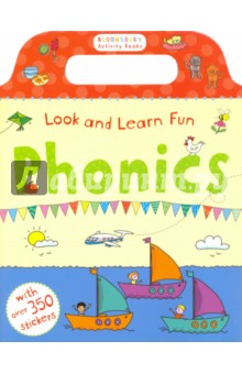 Look and Learn Fun. Phonics (Sticker Book)Литература на иностранном языке для детей<br>This fantastic phonics sticker and activity book makes learning to read fun! Bloomsbury Activity Books provide hours of colouring, stickering and activity fun for boys and girls alike. Every book includes enchanting, bright and beautiful illustrations which children and parents will find very hard to resist. Perfect for providing entertainment at home or on the move!<br>