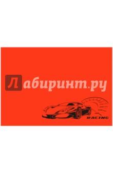 Клеенка для уроков труда Авто на красном фоне (40761)