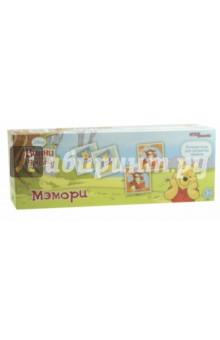 Мэмори Медвежонок Винни (80200)Карточные игры для детей<br>Лучшая игра для развития памяти. Мэмори Медвежонок Винни. <br>Комплектность: 48 карточек, инструкция.<br>Упаковка: картонная коробка.<br>Для детей от трех лет. <br>Сделано в России.<br>