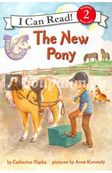 Pony Scouts. The New Pony. Level 2Литература на иностранном языке для детей<br>The Pony Scouts are becoming better at riding with every lesson. But just when they think they ve seen it all, a new horse arrives on Jill s farm one who hasn t been ridden before! Taffy is a beautiful palomino pony that needs Jill s help. With a little patience and a lot of love, Jill and the Pony Scouts will make Taffy a member of the family.<br>This is the seventh title in the Pony Scouts I Can Read series, making learning to read a galloping good time.<br>