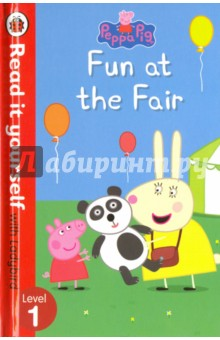 Fun at the FairЛитература на иностранном языке для детей<br>Peppa and her family are visiting the funfair. Find out who gets scared on the rides and who wins lots of prizes. Read it yourself is a series of character stories and traditional tales, written in a simple way for children who are learning to read. For children who are ready to take their first steps in reading.<br>