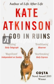 A God in RuinsХудожественная литература на англ. языке<br>The stunning companion to Kate Atkinson s #1 bestseller Life After Life, one of the best novels I ve read this century (Gillian Flynn). <br>He had been reconciled to death during the war and then suddenly the war was over and there was a next day and a next day. Part of him never adjusted to having a future. <br>Kate Atkinson s dazzling Life After Life explored the possibility of infinite chances and the power of choices, following Ursula Todd as she lived through the turbulent events of the last century over and over again. <br>A God in Ruins tells the dramatic story of the 20th Century through Ursula s beloved younger brother Teddy--would-be poet, heroic pilot, husband, father, and grandfather-as he navigates the perils and progress of a rapidly changing world. After all that Teddy endures in battle, his greatest challenge is living in a future he never expected to have. <br>An ingenious and moving exploration of one ordinary man s path through extraordinary times, A GOD IN RUINS proves once again that Kate Atkinson is one of the finest novelists of our age.<br>