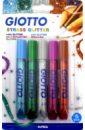 Клей-глиттер для декора 5 цветов STRASS (545200).
