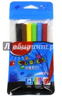 """Фломастеры """"Ocean"""" (6 цветов) (845723) MAPED"""