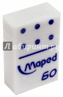 "Ластик ""Domino"" (в виде домино, белый) (511260) MAPED"