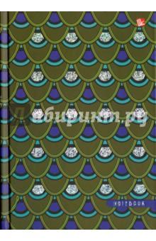 "Книги для записей ""Павлиний окрас"" (120 листов, А5) (КЗФ51201903) Эксмо-Канц"