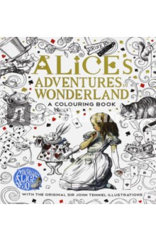 Alices Adventures in Wonderland. Colouring BookЛитература на иностранном языке для детей<br>The Macmillan Alice Colouring Book is a beautifully produced colouring book, with black line illustrations by Sir John Tenniel, taken from the original Alices Adventures in Wonderland and Through the Looking-Glass, with added decoration and imagery to stimulate the imagination and soothe the mind, as you lose yourself in Wonderland. This gorgeous colouring book, from the original publisher of Lewis Carrolls beloved masterpiece, features all of Wonderlands favourite characters, the White Rabbit, the Cheshire Cat, the Mad Hatter, the Red Queen and of course Alice herself - just waiting to be brought to life with colour.<br>