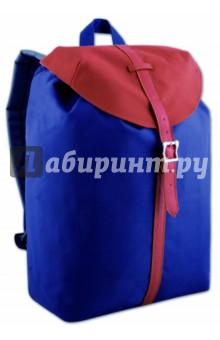 Рюкзак молодежный Синий-бордо (40400)Рюкзаки школьные<br>Рюкзак молодежный.<br>Лямки с регулировкой.<br>Размер: 39х28х13 см.<br>Материал: полиэстер 100%.<br>Сделано в Китае.<br>