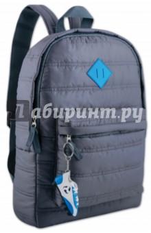 Рюкзак молодежный ТЕМНО-СЕРЫЙ (40840)Рюкзаки школьные<br>Рюкзак молодежный.<br>1 карман на молнии.<br>Материал: нейлон.<br>Упаковка: пакет.<br>Сделано в Китае.<br>