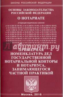 """Основы законодательства РФ """"О нотариате"""" 2016"""