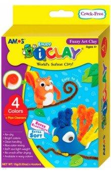 Масса для лепки Забавные животные, 4 цвета (21700)Лепим из пасты<br>В данный набор для творчества входит масса для лепки Забавные животные, 4 цвета по 15 гр. и декоративная проволока.<br>Можно получать новые оттенки цвета, смешивая массу разных цветов. <br>Идеальна для создания игрушек, аксессуаров и воплощения множества творческих идей.<br>Для детей от трех лет. <br>Упаковка: картонная коробка с подвесом.<br>Изготовитель: Корея.<br>
