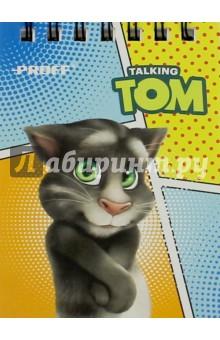 Блокнот Talking Tom, в клетку, 40 листов. А7 (TT16-NBS740) Proff